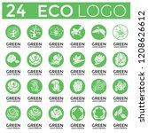 big set of vector logo design... | Shutterstock .eps vector #1208626612