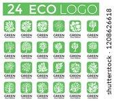 big set of vector logo design... | Shutterstock .eps vector #1208626618