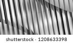lath structure of ceiling  wall ... | Shutterstock . vector #1208633398