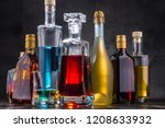 composition with carafe and...   Shutterstock . vector #1208633932