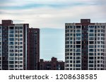 shaoyang city architecture... | Shutterstock . vector #1208638585