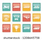 travel and transportation of...   Shutterstock .eps vector #1208645758