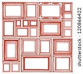 frame sketchbook   vector style | Shutterstock .eps vector #120866422