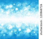 christmas background for... | Shutterstock . vector #120868726