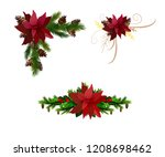 christmas elements for your... | Shutterstock .eps vector #1208698462