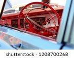 retro vintage car | Shutterstock . vector #1208700268