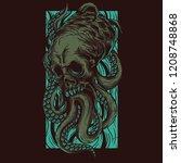 odd creature illustration   Shutterstock .eps vector #1208748868