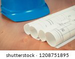 diagrams or electrical... | Shutterstock . vector #1208751895