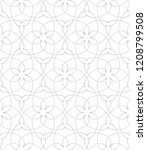 seamless linear pattern with... | Shutterstock .eps vector #1208799508