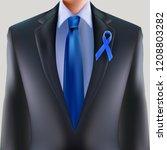 prostate cancer awareness... | Shutterstock .eps vector #1208803282