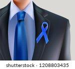 prostate cancer awareness... | Shutterstock .eps vector #1208803435