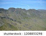 crinkle crags from summit of... | Shutterstock . vector #1208853298