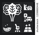 set of 6 nobody filled icons... | Shutterstock .eps vector #1208880448