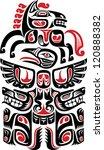 haida style tattoo design...   Shutterstock .eps vector #120888382