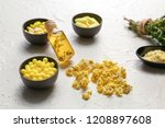 many different pills with... | Shutterstock . vector #1208897608
