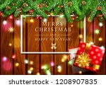 vector illustration for merry... | Shutterstock .eps vector #1208907835
