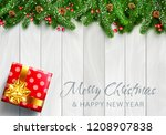 vector illustration for merry... | Shutterstock .eps vector #1208907838