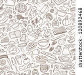 cookery   seamless background | Shutterstock .eps vector #120892468