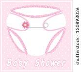 fondo,tarjeta,niño,pañales,punto,punteado,flor,volante,chica,saludo,ilustración,invitación,nappy,recién nacido,mima