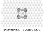 speech bubble icon inside retro ...   Shutterstock .eps vector #1208984278