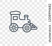 locomotive concept vector...   Shutterstock .eps vector #1208994682
