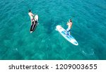 aerial drone photo of 2... | Shutterstock . vector #1209003655