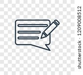 writing message concept vector...