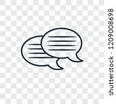 message bubble concept vector...   Shutterstock .eps vector #1209008698