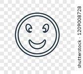 smiling face concept vector...