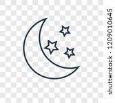 Moon Concept Vector Linear Icon ...