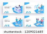 presentation slide templates or ...   Shutterstock .eps vector #1209021685