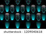 background with people using... | Shutterstock . vector #1209040618