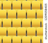 background of yellow plastic... | Shutterstock .eps vector #1209058405