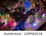 diwali  christmas marriage... | Shutterstock . vector #1209063118