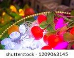 diwali led lights | Shutterstock . vector #1209063145