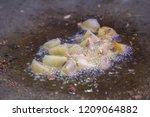 delhi potato snack | Shutterstock . vector #1209064882