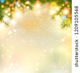 holiday background with a... | Shutterstock .eps vector #1209105568