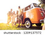 summer holidays  road trip ... | Shutterstock . vector #1209137572