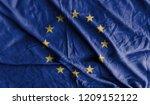 europe spain flag 3d... | Shutterstock . vector #1209152122