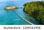 aerial resort and wild tropical ...   Shutterstock . vector #1209161908