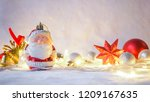 light and christmas decoration... | Shutterstock . vector #1209167635