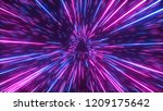 abstract bright creative cosmic ...   Shutterstock . vector #1209175642