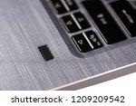 modern and security notebook... | Shutterstock . vector #1209209542