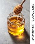 dripping sweet natural organic... | Shutterstock . vector #1209225268