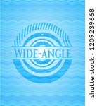 wide angle water wave... | Shutterstock .eps vector #1209239668