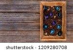 italian espresso coffee... | Shutterstock . vector #1209280708