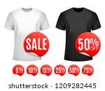 men t shirt sale | Shutterstock .eps vector #1209282445