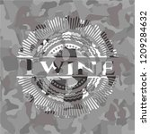 twine on grey camo texture   Shutterstock .eps vector #1209284632