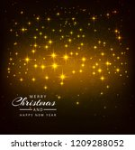 beautiful shiny glitters merry...   Shutterstock .eps vector #1209288052
