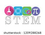 stem   science  technology ... | Shutterstock .eps vector #1209288268